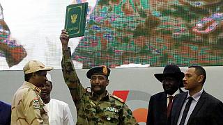 Ex junta leader sworn in as head of Sudan transition council
