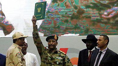 Ex junta leader sworn in as head of Sudan transition council