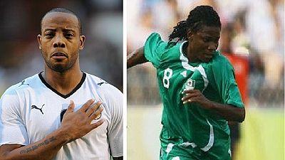 Football: l'Afrique perd deux anciennes gloires