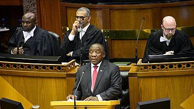 Afrique du Sud : débat houleux au Parlement