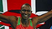 Kenya's Olympic 800m champion David Rudisha survives road accident
