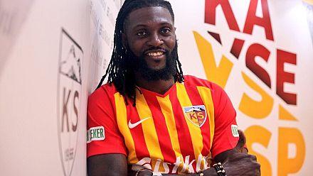 Togo's Emmanuel Adebayor signs for Turkish club Kayserispor