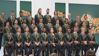 South Africa names squad for 2019 Rugby World Cup in Japan
