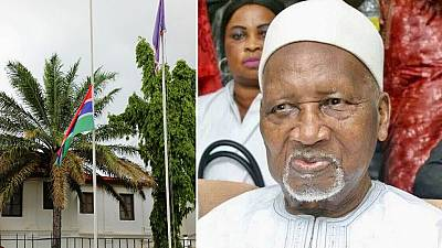 Flags at half-mast as Gambia mourns first president, funeral on Aug. 29