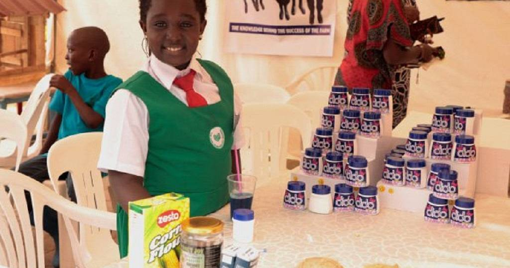 Meet this 9year Ugandan girl making deodorants for kids