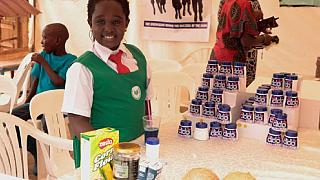 Meet this 9year Ugandan girl making deodorants for kids