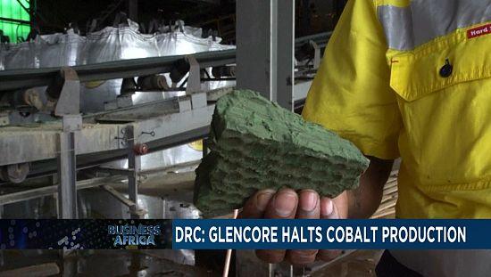 DRC: Cobalt production halted [Business africa]