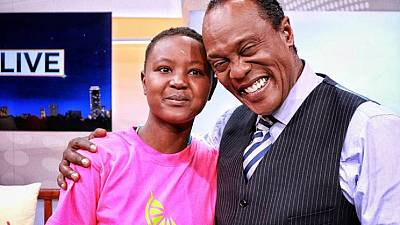 Kenyans raise over $20,000 in one hour for teenager's cancer treatment