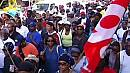 Silent march for protest victim in Guadeloupe
