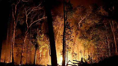 What is making firefighting in the Amazon this tough?