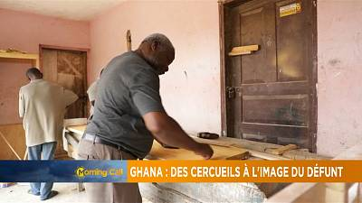 Au Ghana, Paa Joe personnalise les cercueils des défunts [The Morning Call]