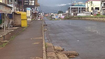 Au Cameroun anglophone, des rues quasi désertes pour la rentrée scolaire