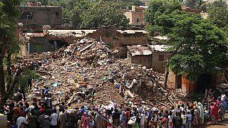 Quatre interpellations au Mali après l'effondrement d'un immeuble ayant fait 15 morts