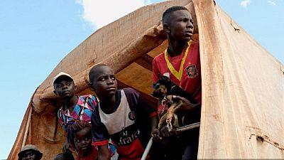 Exténués mais soulagés, des réfugiés centrafricains rentrent au pays