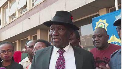 Head of South Africa Police to meet demonstrators