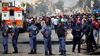 Violences xénophobes en Afrique du Sud : forte présence policière à Johannesburg, redevenu calme