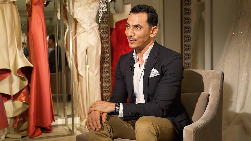 Celebrity Syrian Designer Rami Al Ali Says Rules Of Couture Have Changed Euronews