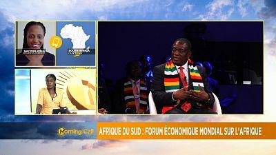 Ouverture du Forum économique mondial sur l'Afrique [the Morning Call]