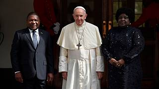 Mozambique welcomes the Pope Francis