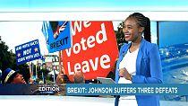 Brexit : Boris Johnson subit trois défaites