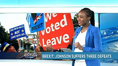 Brexit: Johnson suffers three defeats [International Edition]