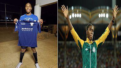 Caster Semenya la susperstar de l'athlétisme rejoint un club de football