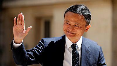 Billionaire Jack Ma steps down as Alibaba chairman