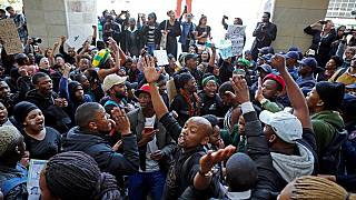Zambian protest against xenophobic attacks in South Africa [No Comment]