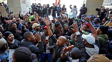 Des Zambiens protestent contre les attaques xénophobes en Afrique du Sud [No Comment]