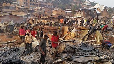 RDC : nouvel incendie à Bukavu, des centaines de maisons détruites