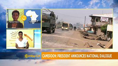 Cameroon: President announces national dialogue [The Morning Call]