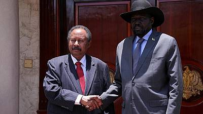 'Time to stop the war in two Sudans' - FMs as Hamdok meets Kiir in Juba