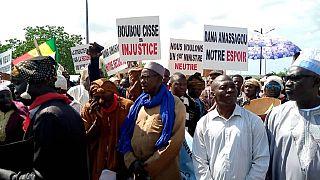 "Mali : à Bamako, manifestation ""contre les bombardements"" au pays dogon"