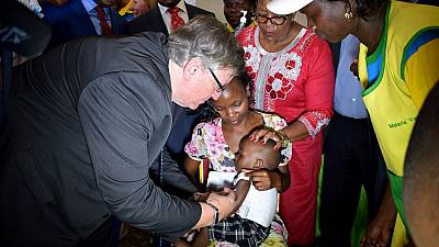 Kenya adds world's first malaria vaccine to routine vaccination