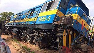 """Accident ferroviaire en RDC: le bilan """"définitif"""" fait état de 14 morts"""