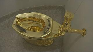 Shock as $1.25 MN gold toilet goes missing in UK palace