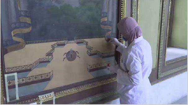 Egypte : rénovation du palais de Mohamed Ali