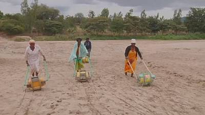 Water roller invention is big relief for Kenyan women
