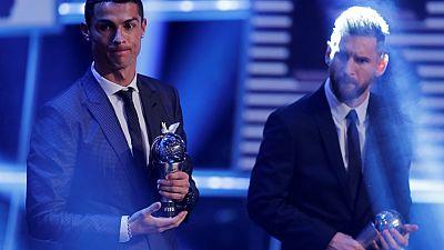 Ronaldo says he deserves more Ballon d'Or awards than Messi
