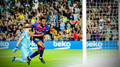 Football : sur les traces d'Ansu Fati, de Bissau au Barça