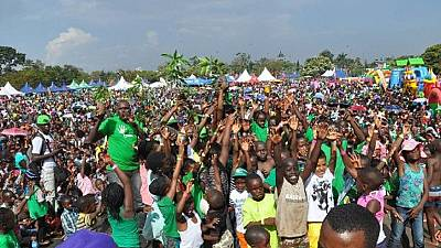 Des centaines de jeunes Ougandais dans les rues pour la défense du climat