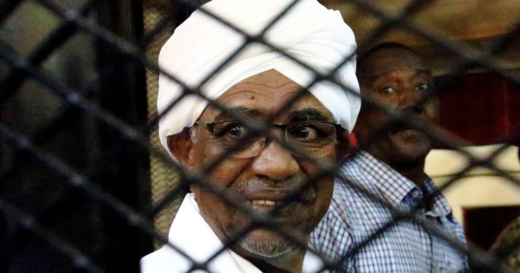 Bulks of cash at the hearing of ousted Sudan President, Bashir