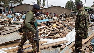 Kenyans mourn 7 children killed after classroom collapses