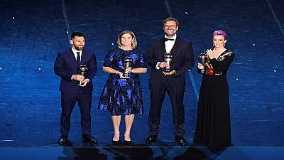 Best FIFA Football Awards 2019: Lionel Messi, Megan Rapinoe win top prize