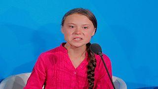 Climate activist Greta Thunberg rages at world leaders at UN summit
