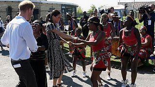 Afrique du Sud : Harry et Meghan au chevet des enfants vulnérables