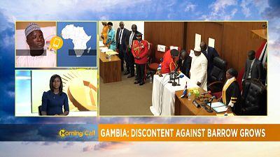 Le bilan mitigé de la présidence d'Adama Barrow [Morning Call]