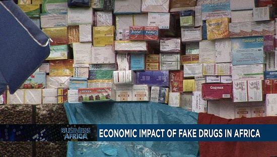 Economic impact of fake drugs [Business Africa]