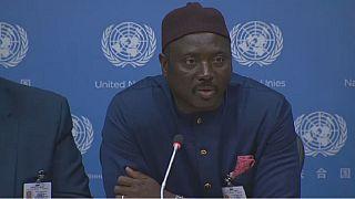 """""""Aucun mur ne peut freiner la migration"""" - diplomate gambien à l'ONU"""