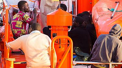 37 sub-Saharan African migrants rescued off Spain